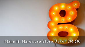 Make It! Hardware Store Decor eBook - $9.99